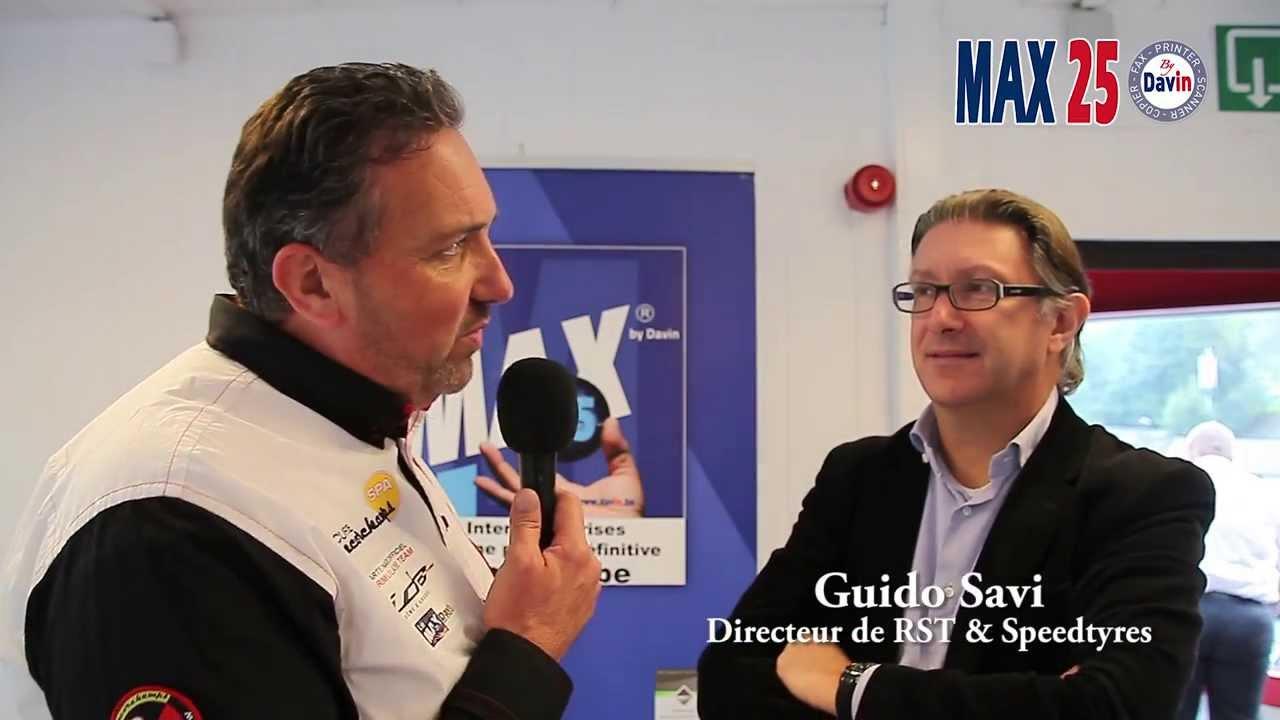 Réunion inter-entreprises MAX 25 du mois d'octobre 2013 au Circuit de Spa Francorchamps