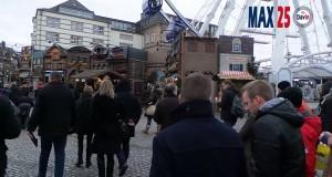 Max25 au Marché de Noël à Düsseldorf 2014 avec Christian Kinot