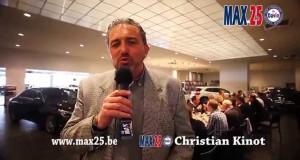 Réunion Max 25 chez Kalscheuer Verviers présentée par Christian Kinot