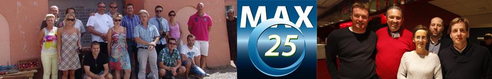 """Max 25 """"Cercle entreprises et réunion d'entreprises"""""""